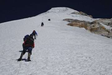 Machermo Peak Climbing