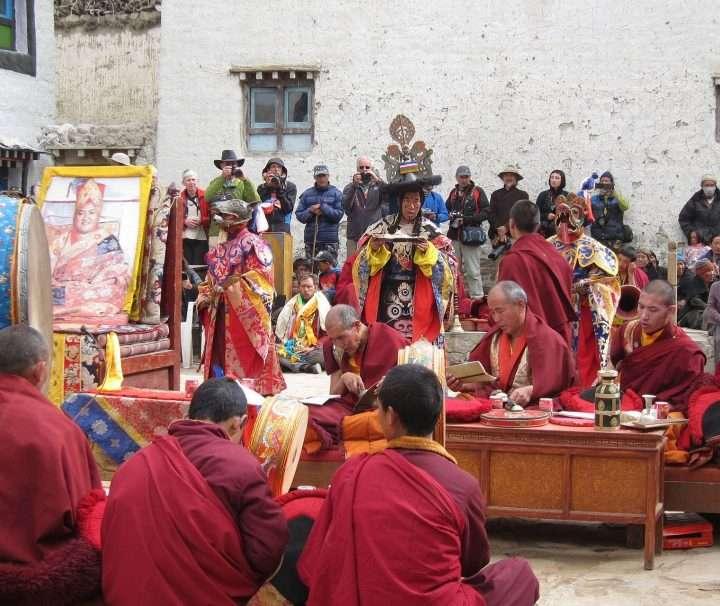 Tiji festival of Mustang