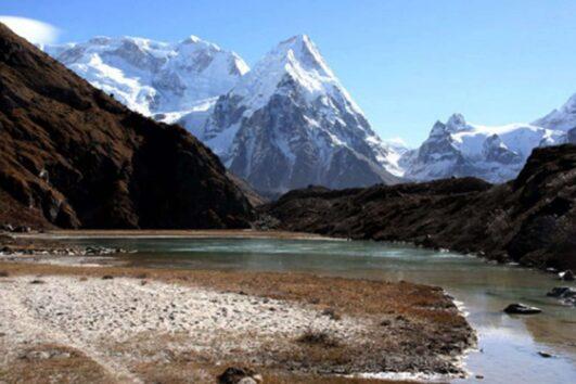 magnificent view of Kanchenjunja