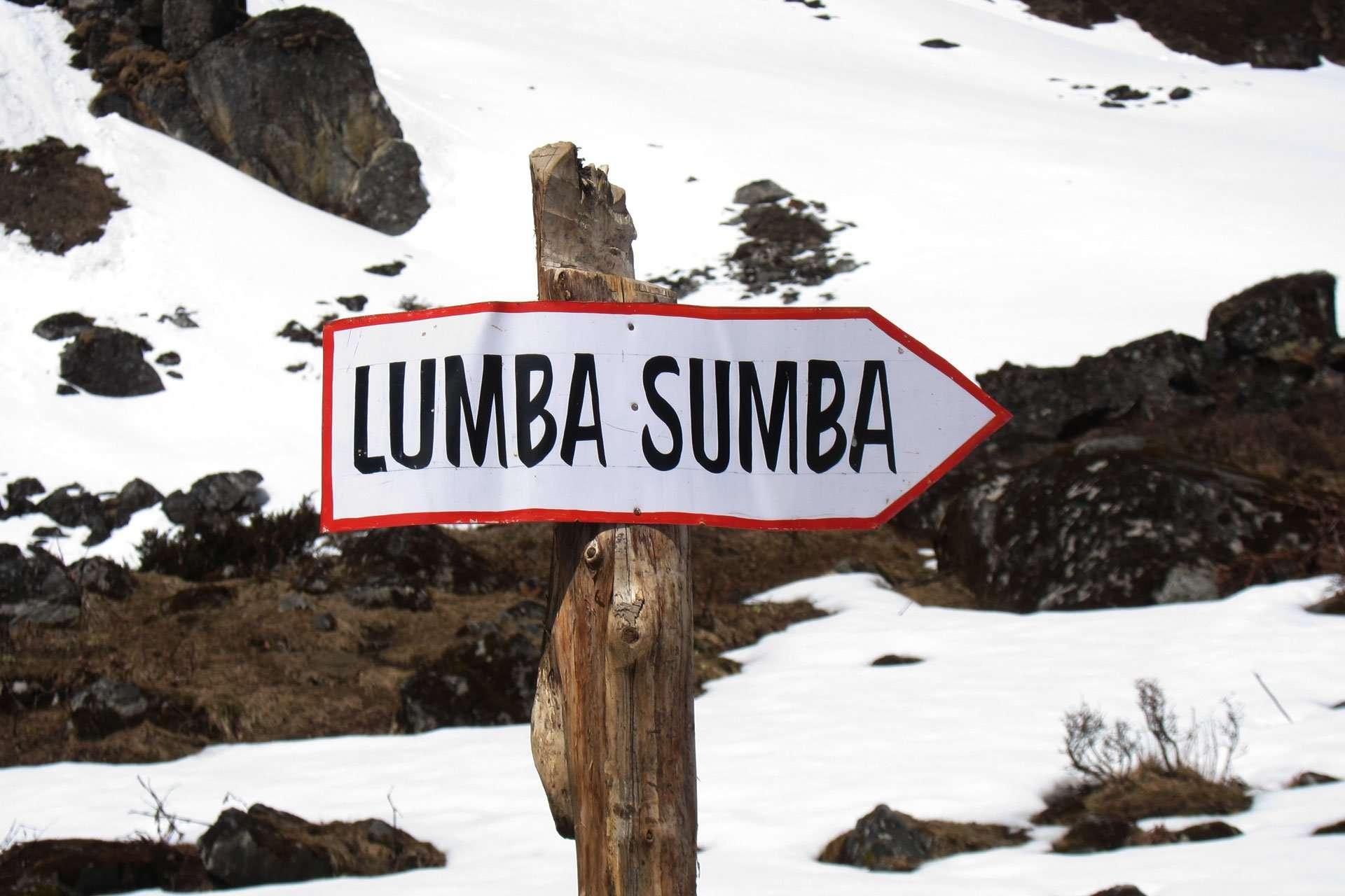 Lumba Sumba pass trek