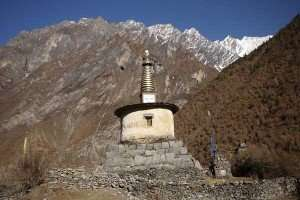 The Buddhist Stupa, Tsum Valley
