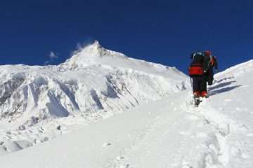 Manaslu Expedition Camp 4
