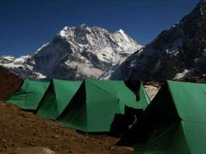 Camping tent in Dharamshala