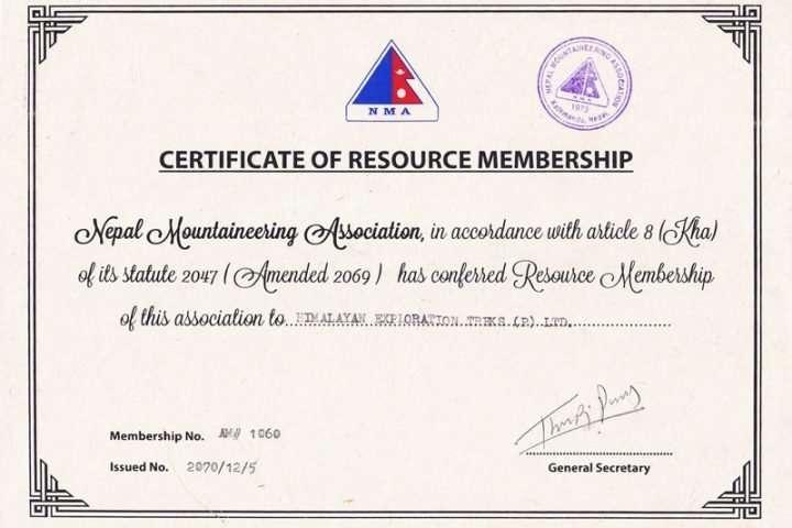 NMA-Himalayan Exploration