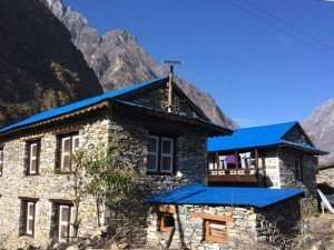 Manaslu Lodge Trek