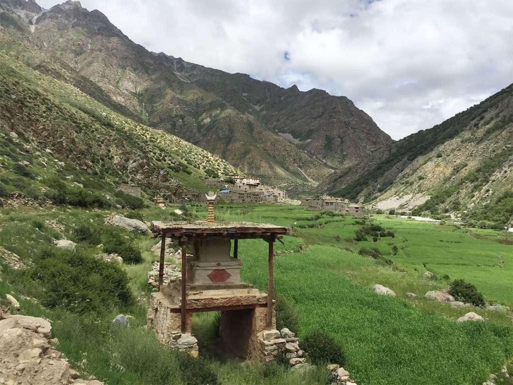 The Stupa at Halji Village