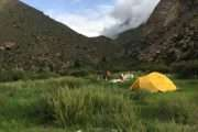 Campsite at Tila River