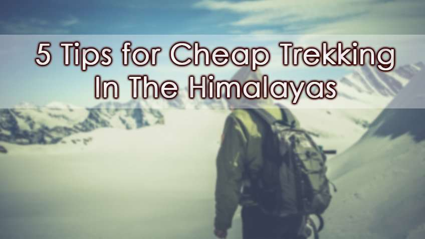 Cheap trekking