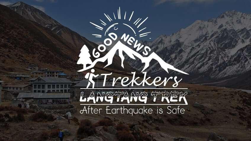 Langtang Trek After Earthquake is Safe