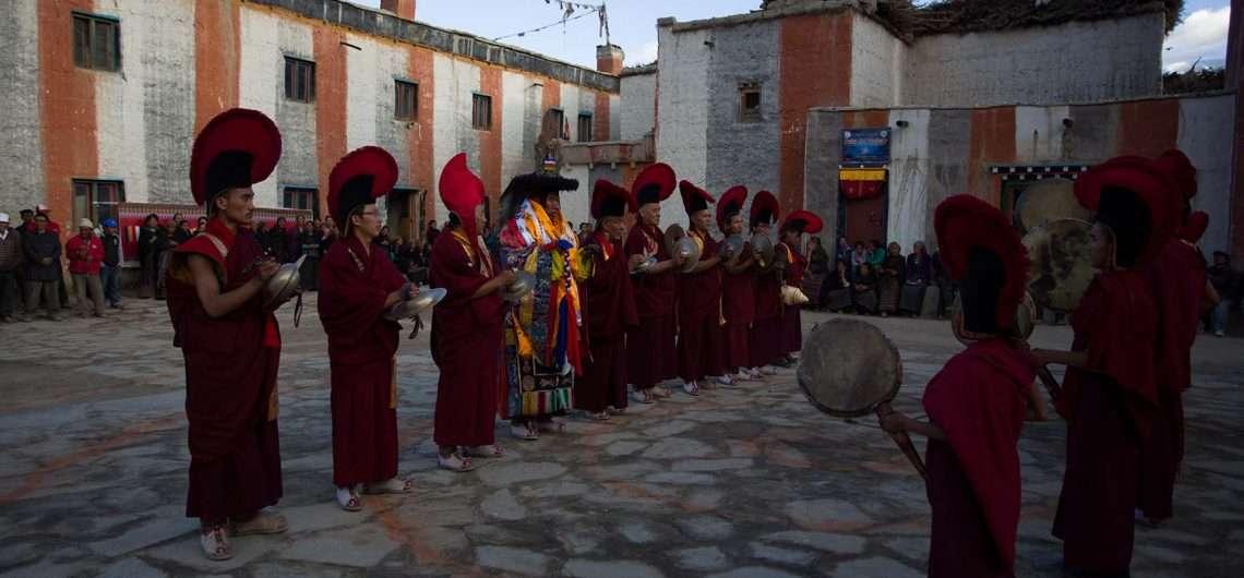 Tiji festival trek