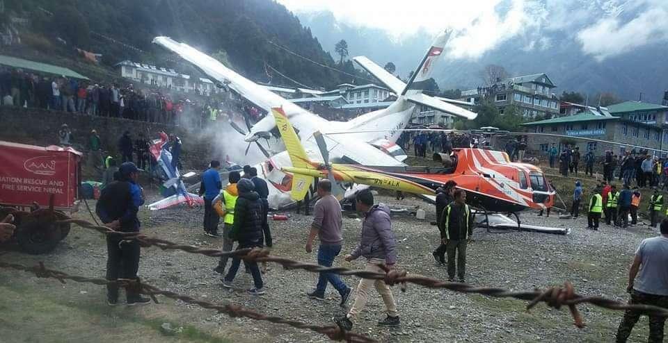 Summit Air crashed