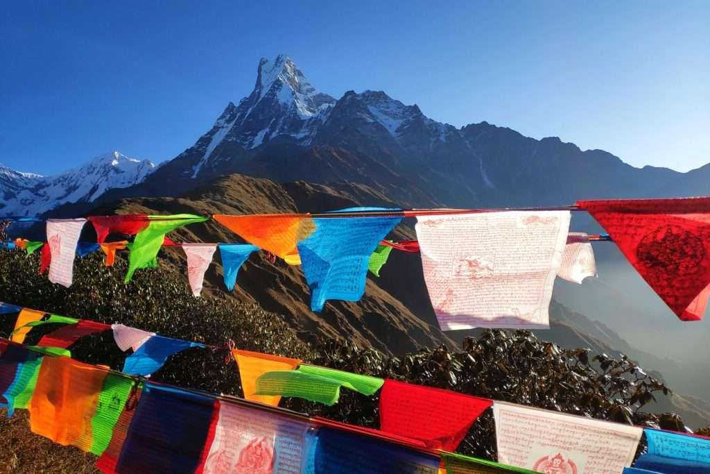 easy treks in nepal - mardi himal