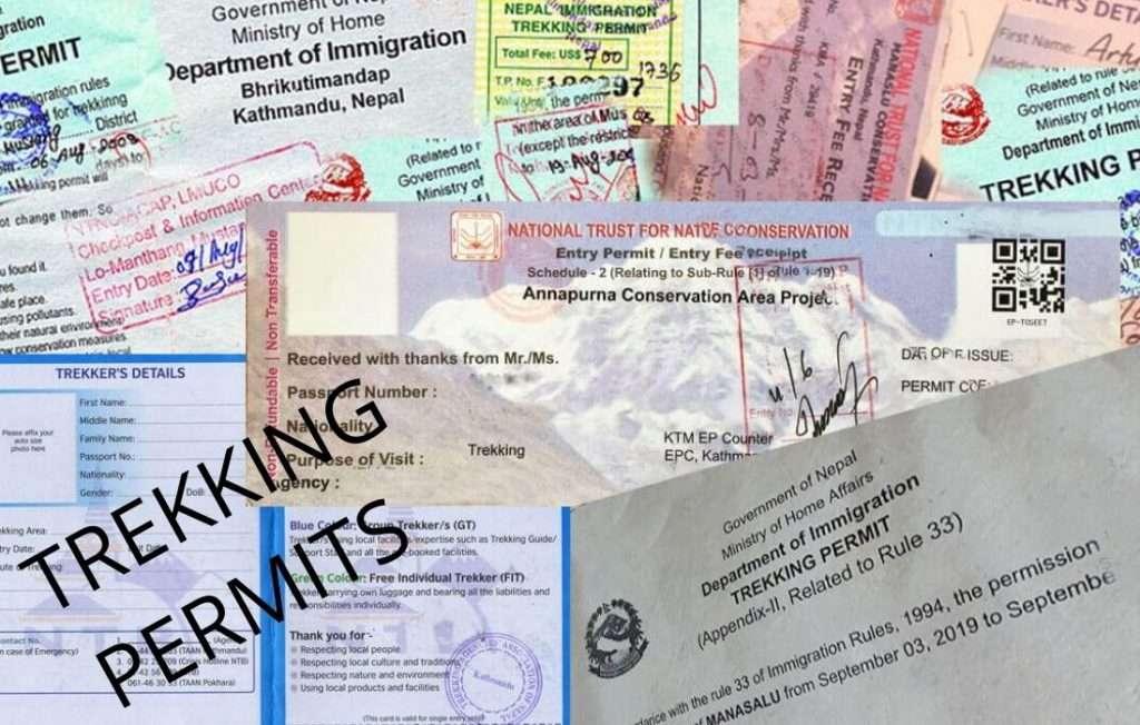 Annpurna Circuit Trekking Permits